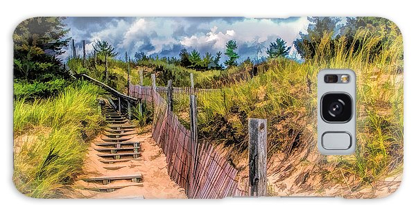 Whitefish Dunes State Park Stairs Galaxy Case
