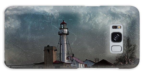 Whitefish Point Lighthouse Lake Superior Galaxy Case