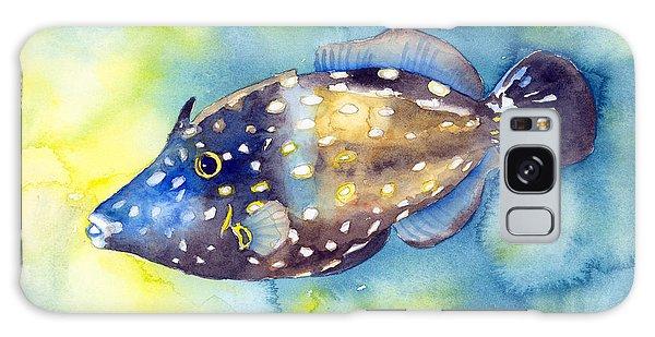 Whitespot Filefish Galaxy Case