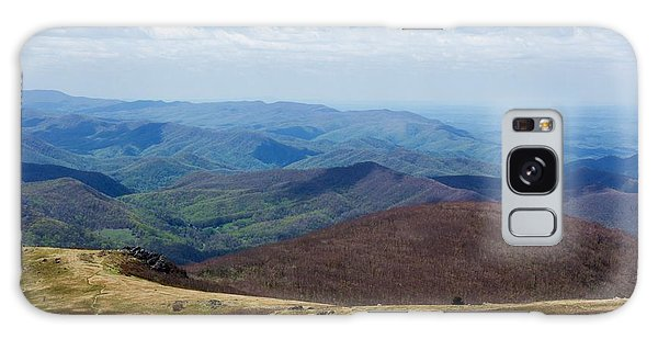 Whitetop Mountain Virginia Galaxy Case by Laurinda Bowling