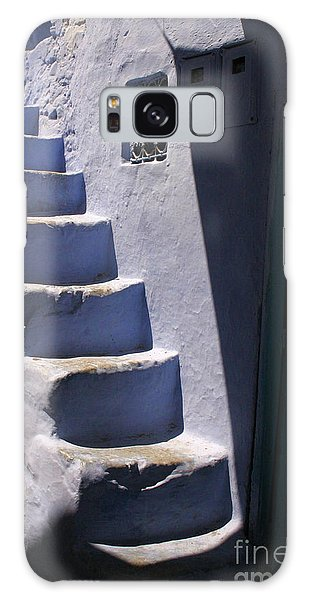 Whitewashed Steps In The Medina Of Asilah On Northwest Tip Of Atlantic Coast Of Morocco Galaxy Case