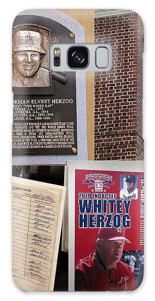 Whitey Herzog Galaxy Case by John Freidenberg