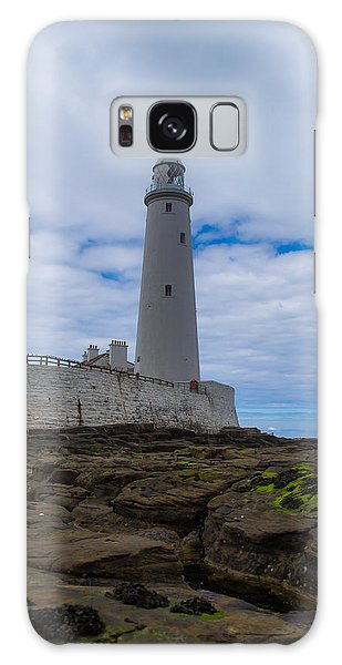 Whitley Bay St Mary's Lighthouse Galaxy Case