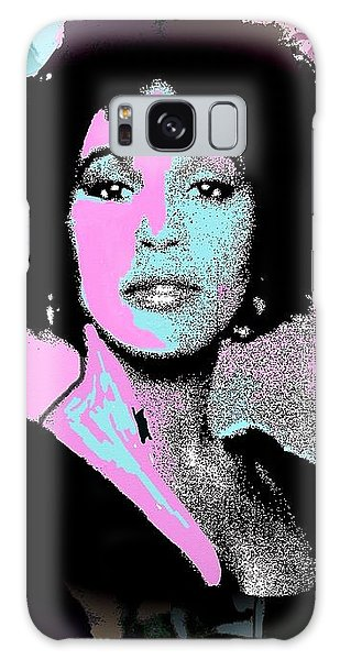 Whitney Houston Sing For Me Again Galaxy Case