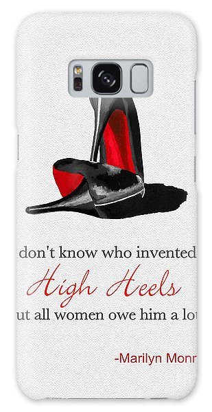 Who Invented High Heels? Galaxy S8 Case