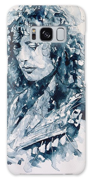 Jimmy Page Galaxy Case - Whole Lotta Love Jimmy Page by Paul Lovering