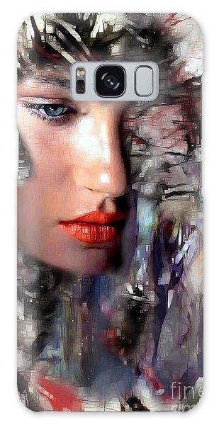 Galaxy Case featuring the digital art Why Me by Rafael Salazar