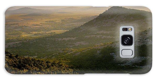 Wichita Mountains At Sunset Galaxy Case by Iris Greenwell