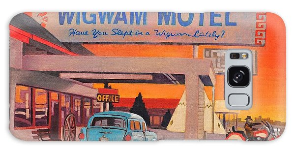 Wigwam Motel Galaxy Case