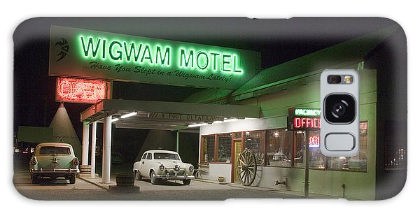 Wigwam Motel In Holbrook Galaxy Case by Carol M Highsmith