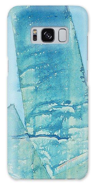 Wild Blue Waves Galaxy Case