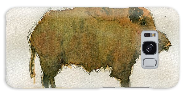 Pig Galaxy Case - Wild Boar by Juan  Bosco