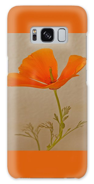 Wild California Poppy No 1 Galaxy Case