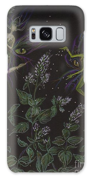 Wild Catnip Galaxy Case by Dawn Fairies
