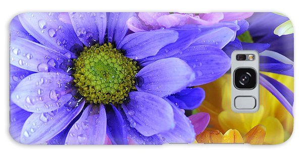 Wild Crazy Daisies 2 Galaxy Case
