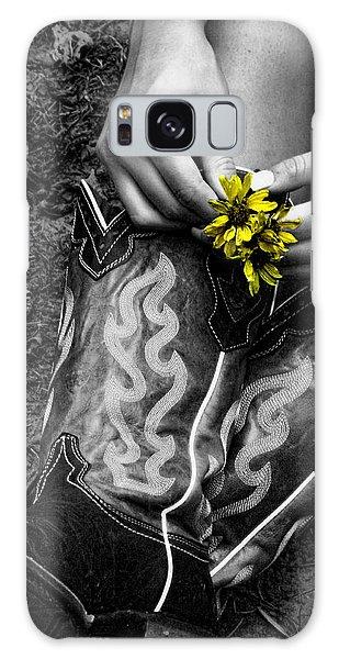 Wild Flower Boots Galaxy Case