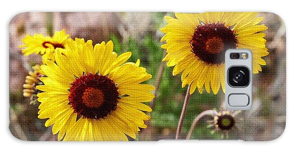 Wild Flowers Above The Rim Galaxy Case by Tom Janca