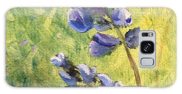 Wild Flowers Galaxy Case by Laurianna Taylor