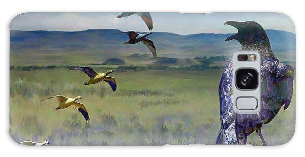 Wild Geese Galaxy Case