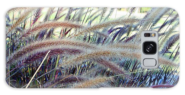Wild Grasses In Autumn Galaxy Case by Ellen Tully