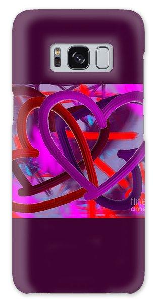 Wild Hearts Galaxy Case by Go Van Kampen