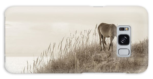 Wild Horse On The Outer Banks Galaxy Case