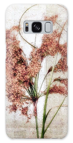 Wild Indian Rice In Autumn #2 Galaxy Case by Louise Kumpf