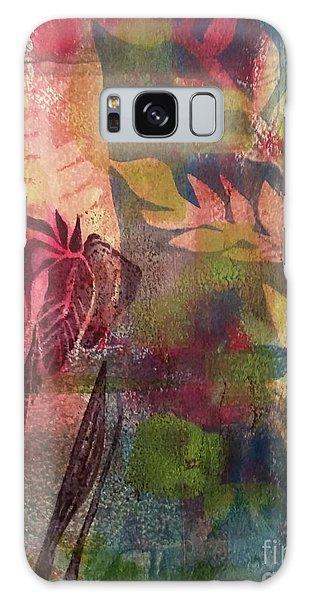 Wild Iris Galaxy Case by Cynthia Lagoudakis