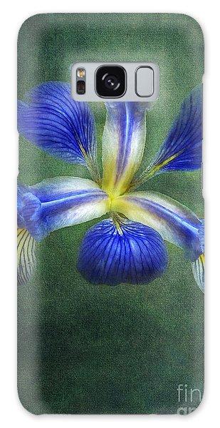 Wild Iris Galaxy Case by Kathi Mirto