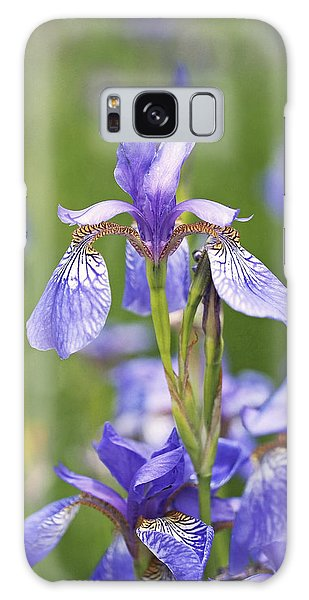 Wild Irises Galaxy Case