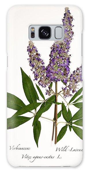 Wild-lavender 1 Galaxy Case