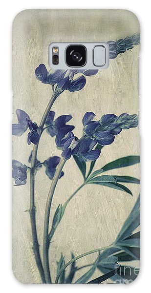 Blossoms Galaxy Case - Wild Lupine by Priska Wettstein