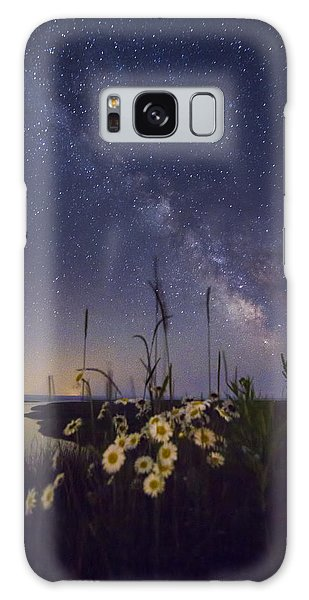 Wild Marguerites Under The Milky Way Galaxy Case by Mircea Costina Photography