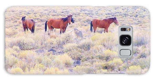 Wild Mustangs Galaxy Case