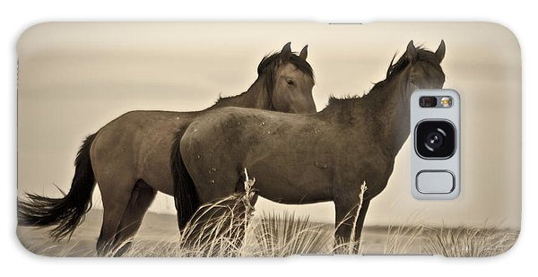 Wild Mustangs Of New Mexico 3 Galaxy Case