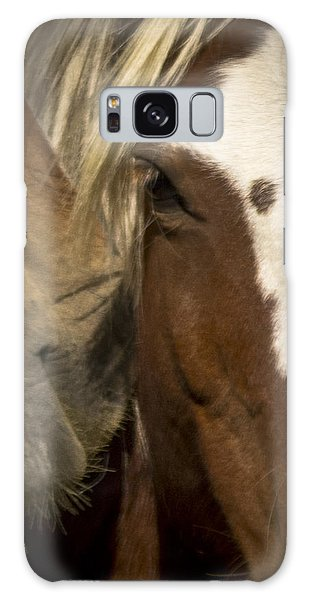 Wild Mustangs Of New Mexico 32 Galaxy Case