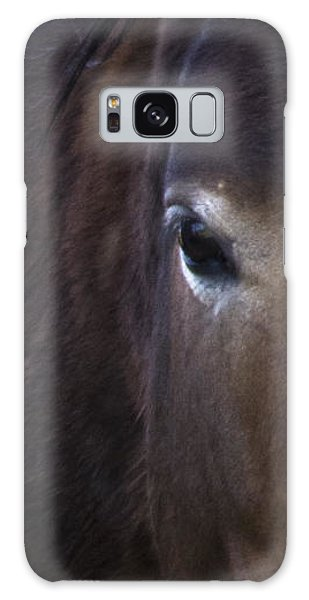 Wild Mustangs Of New Mexico 42 Galaxy Case