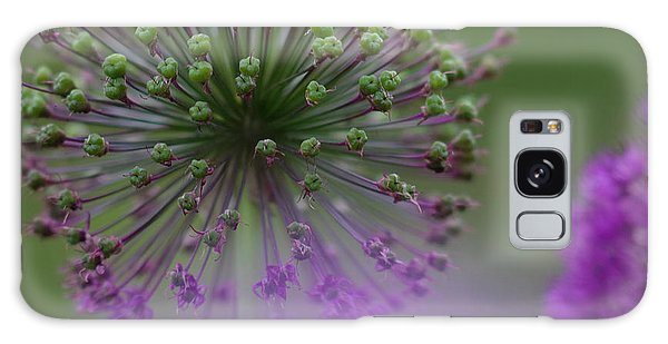 Galaxy Case featuring the photograph Wild Onion by Heiko Koehrer-Wagner
