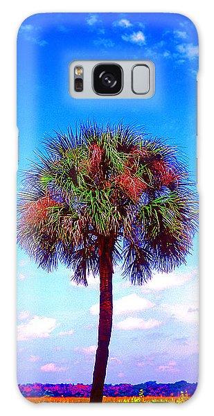 Wild Palm 1 Galaxy Case