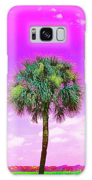 Wild Palm 4 Galaxy Case