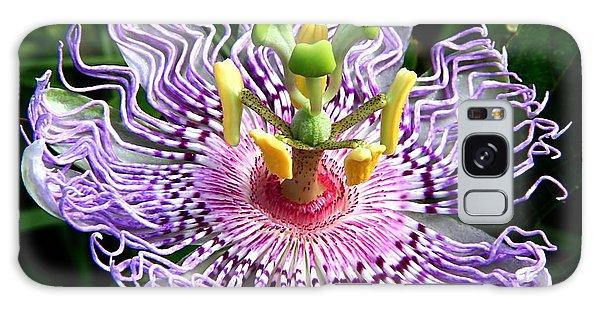Wild Passion Flower Galaxy Case