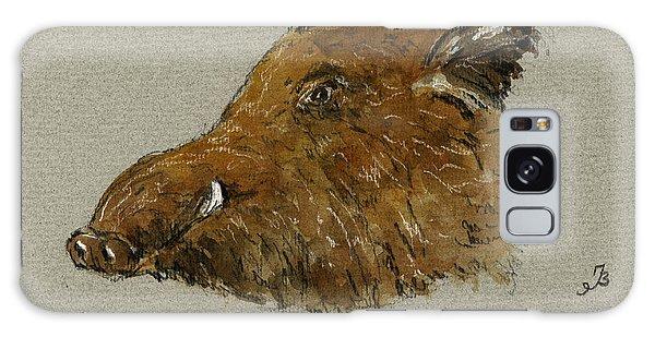 Pig Galaxy Case - Wild Pig by Juan  Bosco
