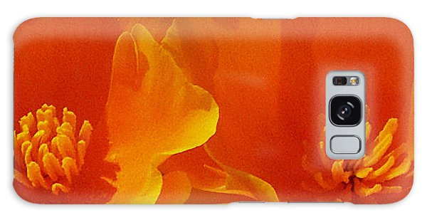 Wild Poppies Galaxy Case