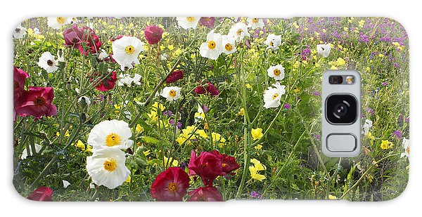 Wild Poppies South Texas Galaxy Case