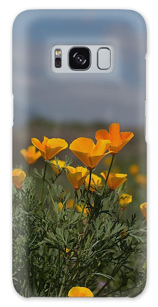 Wild Poppy Galaxy Case