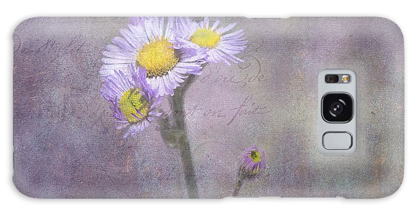 Wild Purple Aster  Galaxy Case by Betty  Pauwels