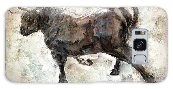 Wild Raging Bull Galaxy S8 Case