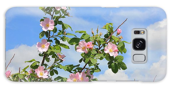 Wild Roses In June Galaxy Case