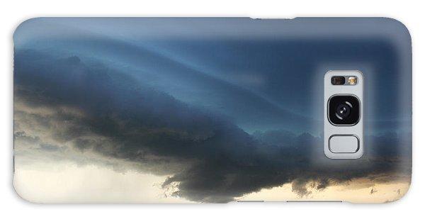 Wild Shelf Cloud Galaxy Case