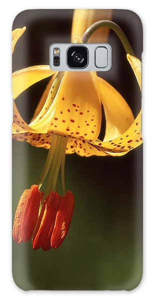 Wild Tiger Lily Galaxy Case